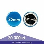 Pin badge circle 25mm - 1pcs