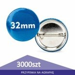 Pin badge circle 32mm - 1pcs
